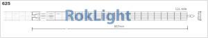 sistem modular pentru fatada 625 luminatoare rokaflex